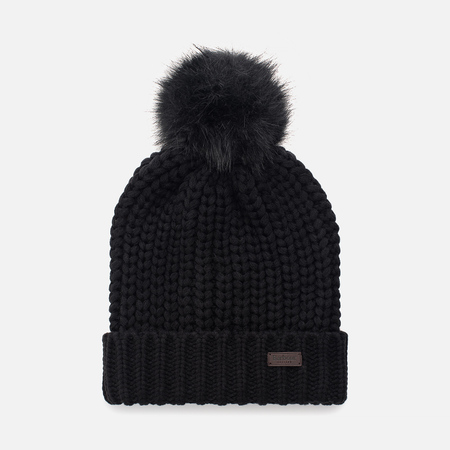 Женская шапка Barbour Saltburn Beanie Black