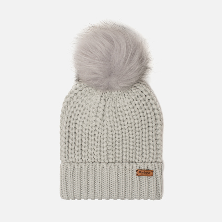 Женская шапка Barbour Saltburn Beanie Ice White