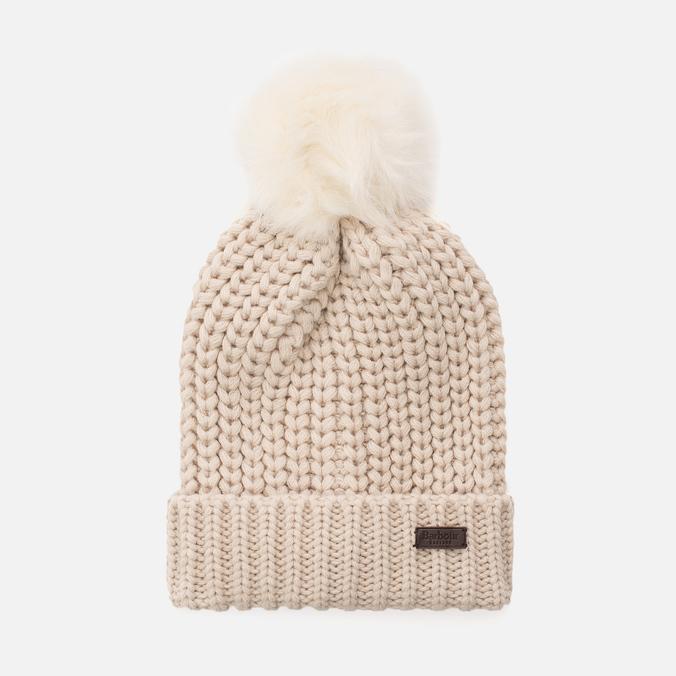 Женская шапка Barbour Saltburn Beanie Pearl