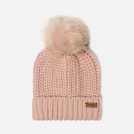 Женская шапка Barbour Saltburn Beanie Pink