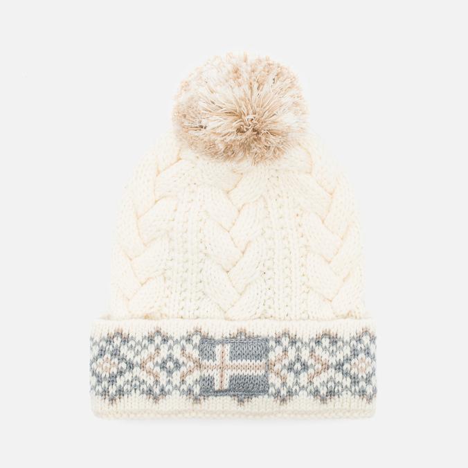 Женская шапка Napapijri Falle Ivory