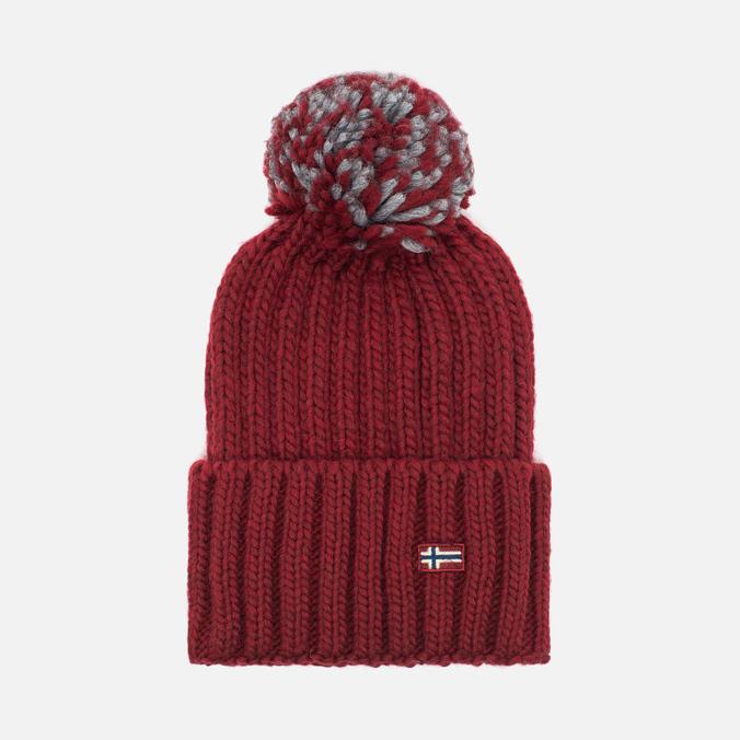 Женская шапка Napapijri Itang Old Red