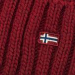 Женская шапка Napapijri Itang Old Red фото- 1