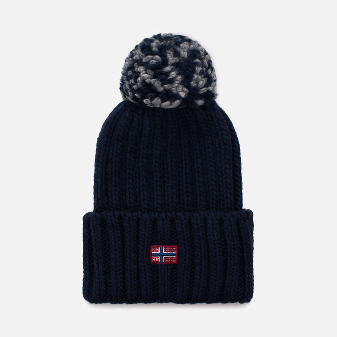 Женская шапка Napapijri Itang Wom 1 Blue Marine