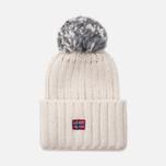 Женская шапка Napapijri Itang Wom 1 Bright White фото- 0