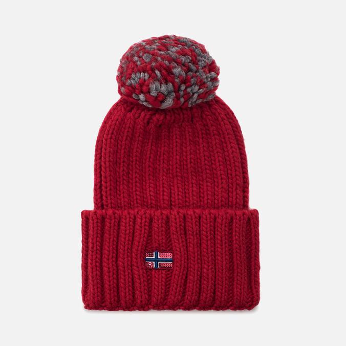 Женская шапка Napapijri Itang Wom 1 Sparkling Red