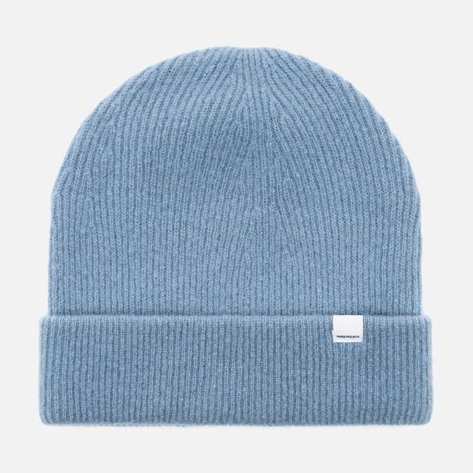 Женская шапка Norse Projects Julia Felt Pale Blue Melange