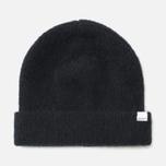 Norse Projects Marta Brushed Rib Women's Hat Black photo- 0
