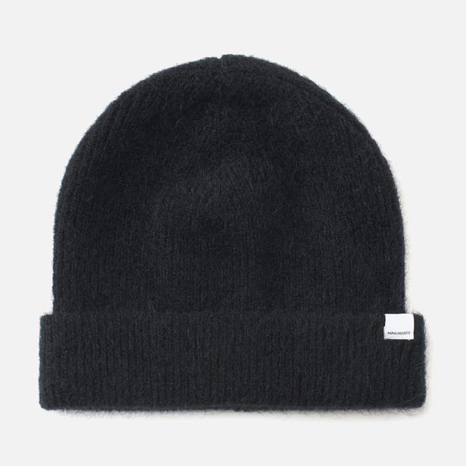 Norse Projects Marta Brushed Rib Women's Hat Black