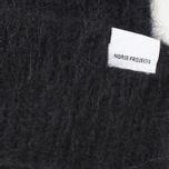Norse Projects Marta Brushed Rib Women's Hat Black photo- 1