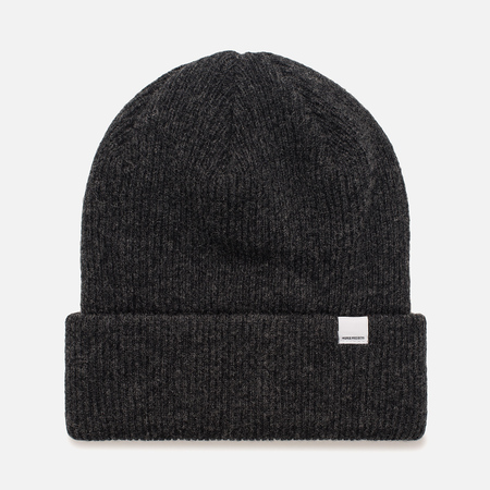 Женская шапка Norse Projects Norse Beanie Charcoal Melange