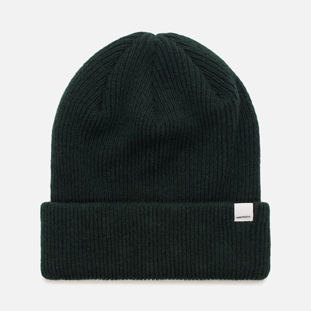 Женская шапка Norse Projects Norse Beanie Moss