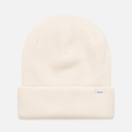 Женская шапка Norse Projects Norse Beanie White
