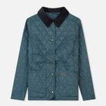 Женская стеганая куртка Barbour Annandale Eucalyptus фото- 0
