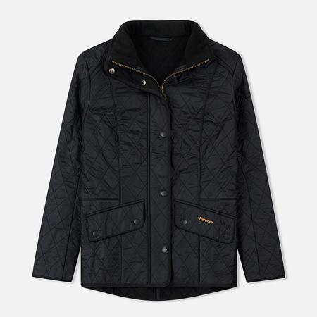 Женская стеганая куртка Barbour Cavalry Polarquilt Black
