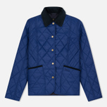 Barbour Clover Liddesdale Women Quilted Jacket Blue photo- 0