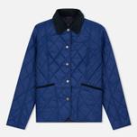 Женская стеганая куртка Barbour Clover Liddesdale Quilted Blue фото- 0