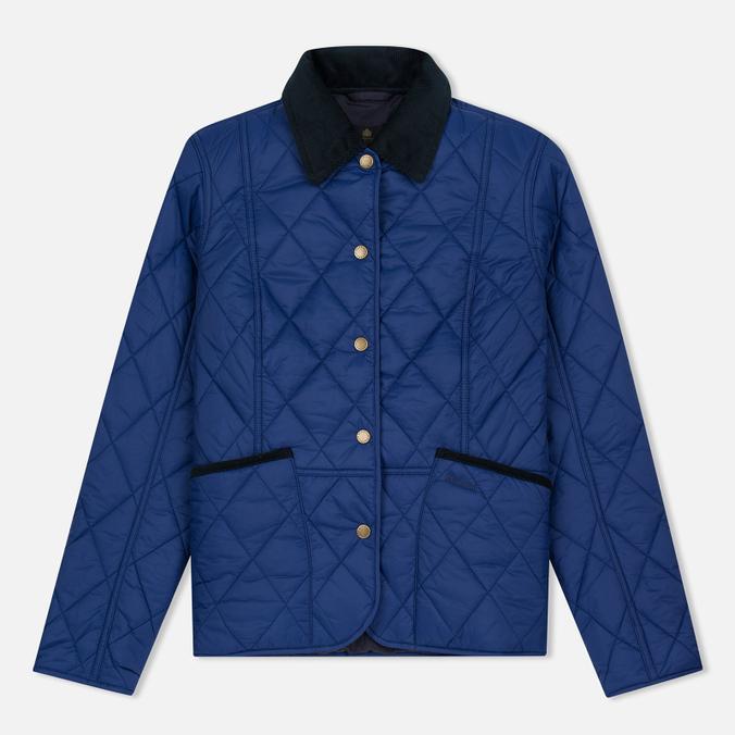 Женская стеганая куртка Barbour Clover Liddesdale Quilted Blue