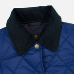 Barbour Clover Liddesdale Women Quilted Jacket Blue photo- 2