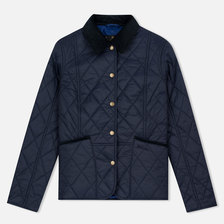 Barbour Clover Liddesdale Women Quilted Jacket Navy