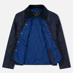 Женская стеганая куртка Barbour Clover Liddesdale Quilted Navy фото- 1