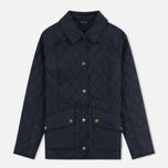 Женская стеганая куртка Barbour Herterton Navy фото- 0