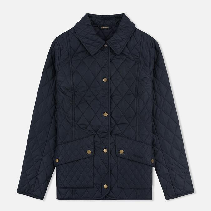 Женская стеганая куртка Barbour Herterton Navy