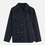 Женская стеганая куртка Barbour Herterton Navy фото- 1