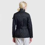 Женская стеганая куртка Barbour International Quilted Black/Black фото- 12