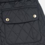 Barbour International Quilted Women's Quilted Jacket Black/Black photo- 6