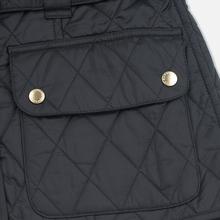 Женская стеганая куртка Barbour International Quilted Black/Black фото- 6
