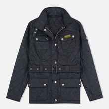 Женская стеганая куртка Barbour International Quilted Black/Black фото- 0