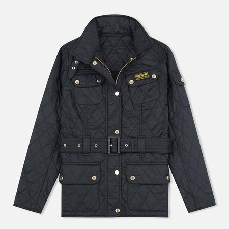 Женская стеганая куртка Barbour International Quilted Black/Black