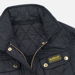 Barbour International Quilted Women's Quilted Jacket Black/Black photo- 2