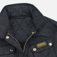 Женская стеганая куртка Barbour International Quilted Black/Black фото- 2