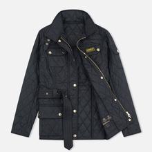 Женская стеганая куртка Barbour International Quilted Black/Black фото- 1