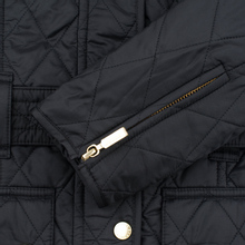 Женская стеганая куртка Barbour International Quilted Black/Black фото- 8