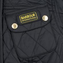 Женская стеганая куртка Barbour International Quilted Black/Black фото- 5