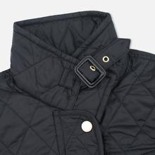 Женская стеганая куртка Barbour International Quilted Black/Black фото- 3