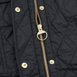 Женская стеганая куртка Barbour International Quilted Black/Black фото- 4