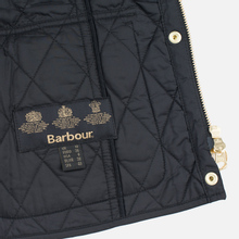 Женская стеганая куртка Barbour International Quilted Black/Black фото- 9