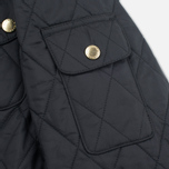 Barbour International Quilted Women's Quilted Jacket Black/Black photo- 7