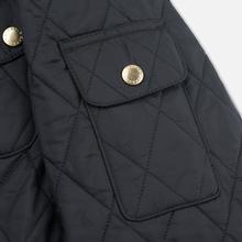 Женская стеганая куртка Barbour International Quilted Black/Black фото- 7