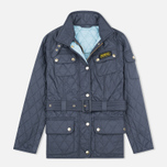 Barbour International Quilted Women's Quilted Jacket Navy/Sky photo- 0