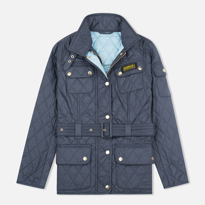 Barbour International Quilted Women's Quilted Jacket Navy/Sky