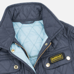 Barbour International Quilted Women's Quilted Jacket Navy/Sky photo- 2