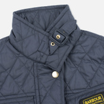 Barbour International Quilted Women's Quilted Jacket Navy/Sky photo- 3