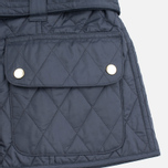 Barbour International Quilted Women's Quilted Jacket Navy/Sky photo- 6