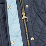 Barbour International Quilted Women's Quilted Jacket Navy/Sky photo- 4