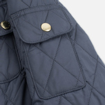 Barbour International Quilted Women's Quilted Jacket Navy/Sky photo- 7
